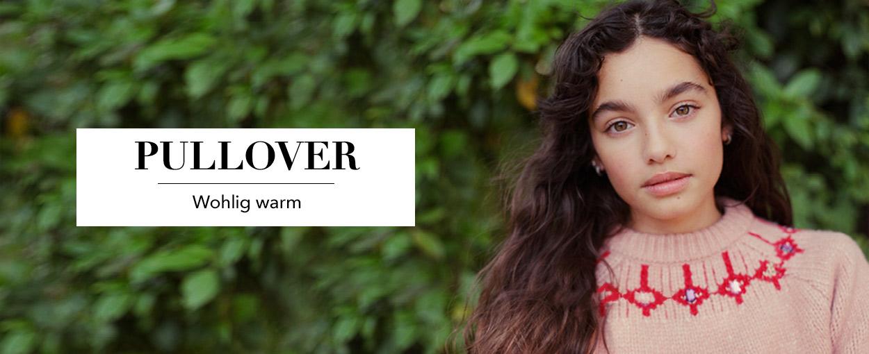 Kinder Pullover- Wohlig warm