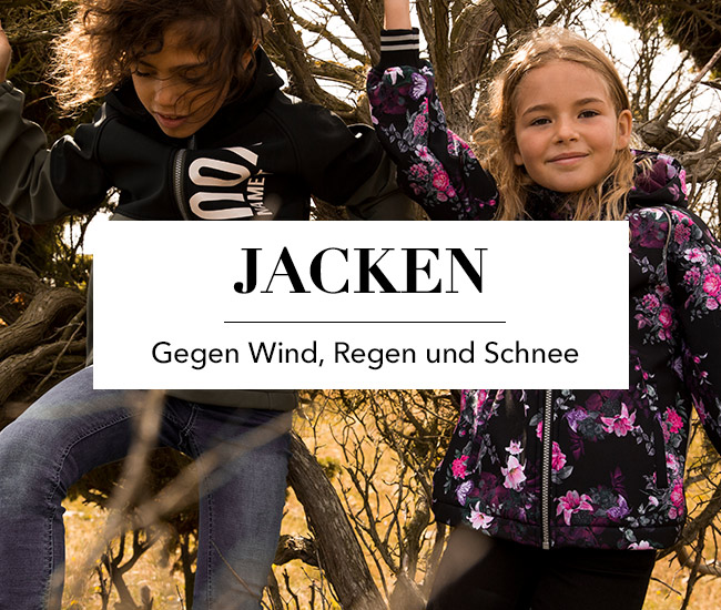 Kinder Jacken - Gegen Wind, Regen und Schnee
