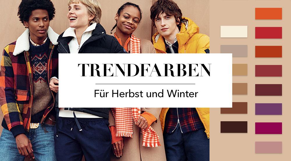Trendfarben für Herbst und Winter