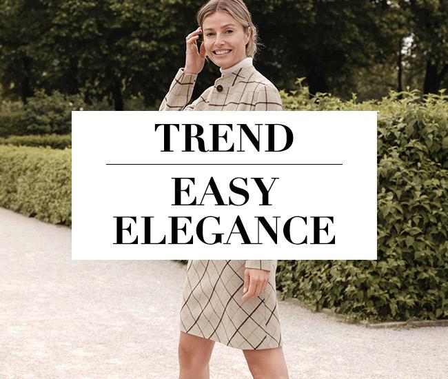 Herbst-Trend Easy Elegance