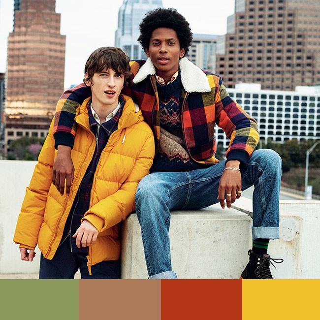 Herren Trendfarben
