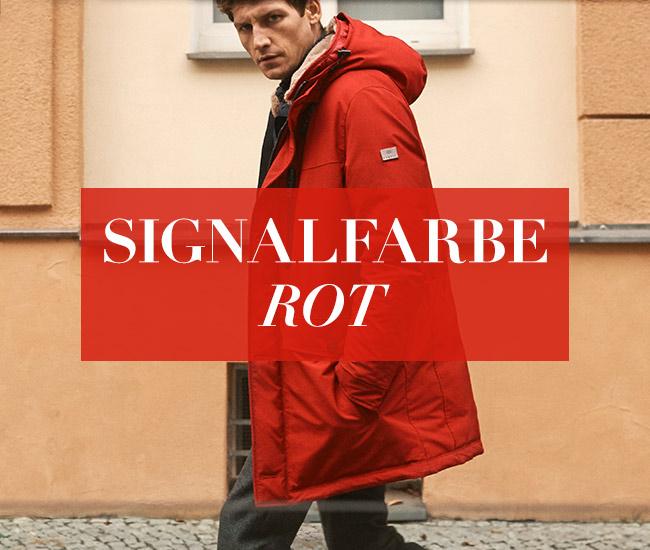 Signalfarbe Rot