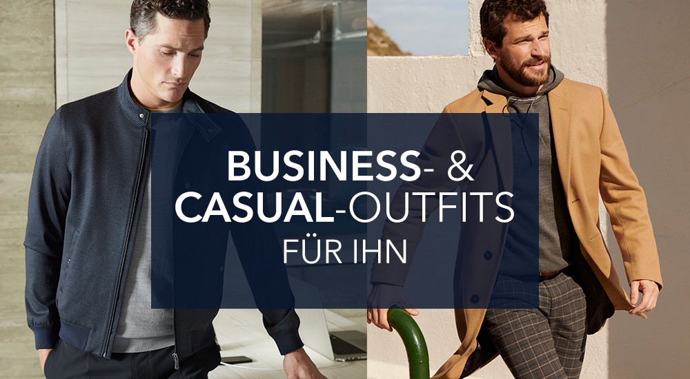 Business- & Casual Outfits