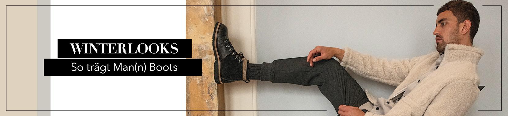 Herren Winterlooks - So trägt Man(n) Boots