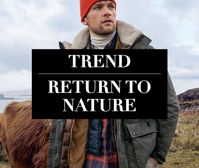 Herbst-Trend Return to Nature